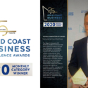 CyTrack Wins 'Mayors Innovation Award' in Gold Coast Business Excellence Awards 2020